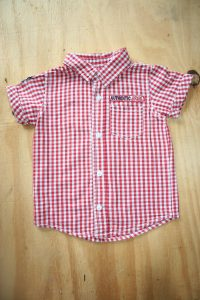 Edgars Red check shirt