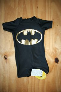 New Bat man Black and gold swimsuit – Still with tags