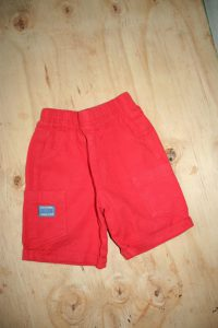 Ackermans Red Awesome Dude Shorts