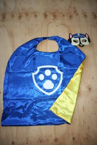 Paw patrol Cape and Mask Set