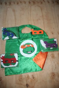 Ninja Turtles Donatello ( Purple) Cape and Mask Set