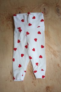 H&M Heart Pants – 0-1 Month
