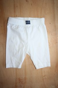 Keedo White Ruffle Pants Great condition 6-9 Months