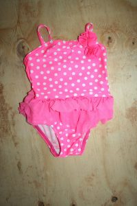 Woolworths Pink polka dot Swimsuit