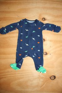 Carters – Prem Dino Onesie – Like new