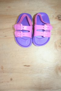 Pink and Purple  shoes – Size 2 Never Worn