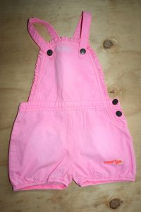 Naartjie Dungarees 12-18 months – light fade at top