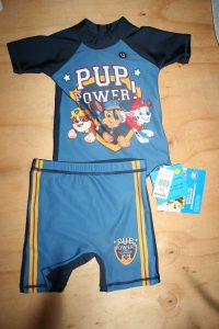 Paw Patrol Swimwear 1 -2 years old. New with tags