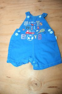 Ackermans 0-3 Months Dungarees