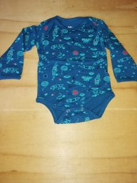 3-6 Months Boys Long Sleeve Vest Like New