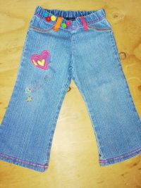 Girls 1-2 Years – 18-24 Months Long Jeans